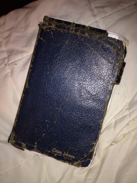 My dad's Bible he read and used in church.