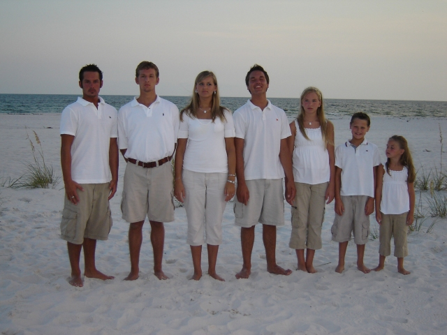 This is our legacy. Paula and I have laid our lives down for our children to know and serve the Lord. Now, we have another son and daughter through marriage into our family and two grandchildren. The window of opportunity is small to make a difference. God has been good to us in spite of our mistakes.