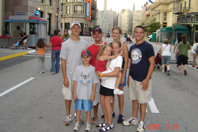 All the gang at MGM Disney Studios in 2005.