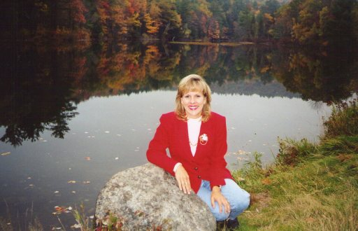 Taken close to Rumney, New Hampshire in the mid-90's.   This is nearby the White Mountains and in the fall it is spectacularly beautiful during that season.   Of course, Paula is always beautiful   I love Paula Mae!