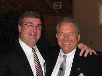 """My dear friend, Richard White, a pastor in Louisiana.   He is """"Mr. Encouragement""""."""