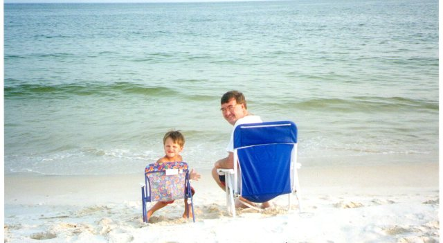 Me and Jake at Orange Beach.   Great times!