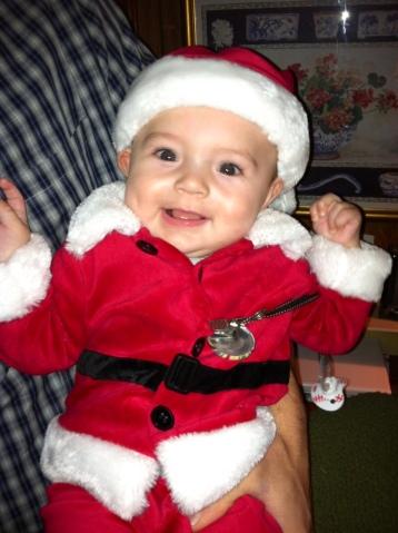 My grandson, Brody.