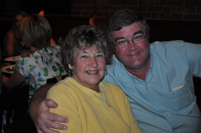Mom and myself at one of our favorite places, Orange Beach.
