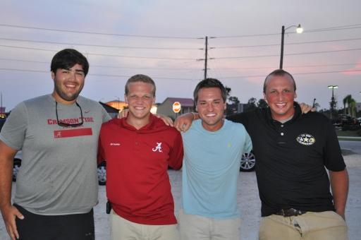 Cousins - Tyler Johnson, Chase Lockard, Jordan Johnson, and Grant Lockard.